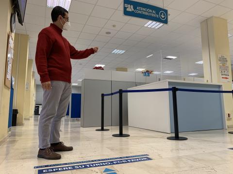 Mario Regidor, concejal de Administración Pública del Ayuntamiento de Las Palmas de Gran Canaria / CanariasNoticias.es