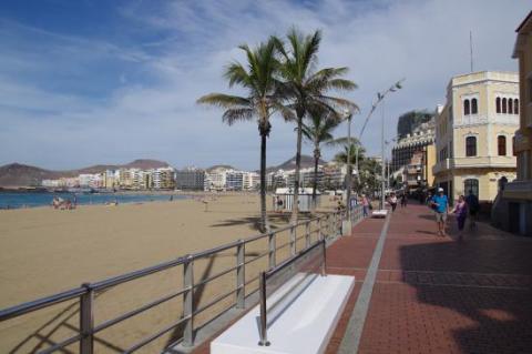 Playa de Las Canteras. Las Palmas de Gran Canaria / CanariasNoticias.es