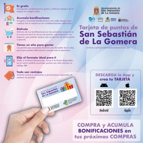 Tarjetas puntos. San Sebastián de La Gomera/ canariasnoticias.es
