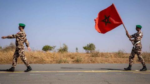Soldados marroquíes/ canariasnoticias.es
