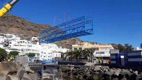 Pasarela Playa de Mogán/ canariasnoticias.es