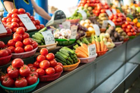 Colores de los aliementos