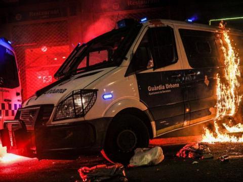 Violencia extrema en Cataluña/ canariasnoticias