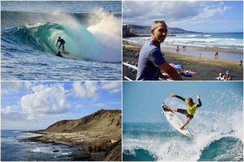 Guía Repsol. Surf. El Confital/ canariasnoticias