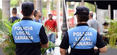 Policía Local. Santa Cruz de Tenerife/ canariasnoticias