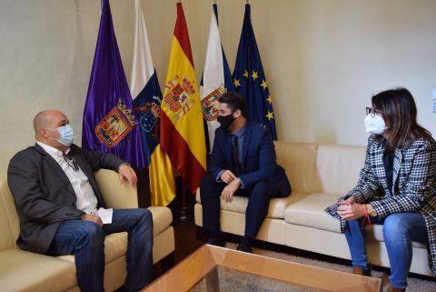 Israel Espino, el nuevo director de Los Sabandeños, en La Laguna / CanariasNoticias.es