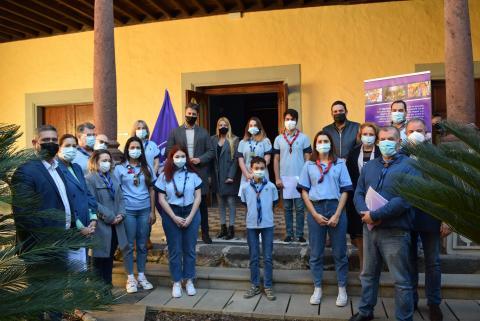 La Laguna reconoce la labor de los grupos 'scouts' del municipio / CanariasNoticias.es