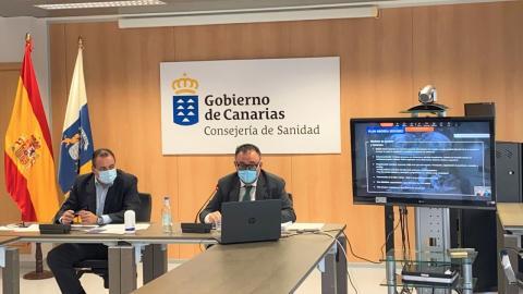 Blas Trujillo y Conrado Domínguez/ canariasnoticias