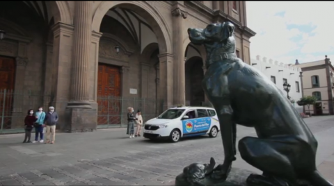 Catedral. Plaza de Santa Ana. Taxi/ canariasnoticias