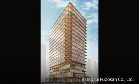 El edificio de madera más alto de Japón