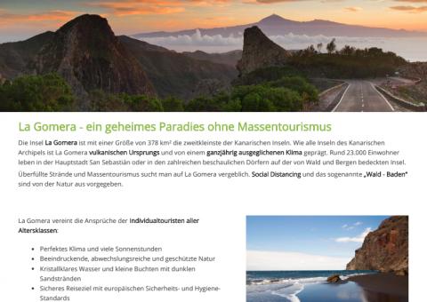 Agentes de viajes alemanes concluyen formación online sobre La Gomera / CanariasNoticias.es