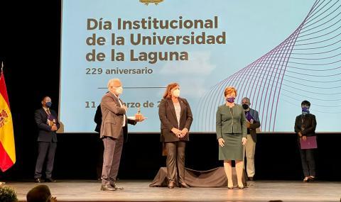 El Cabildo de La Gomera recibe el Premio Mecenazgo 2021 ULL / CanariasNoticias.es