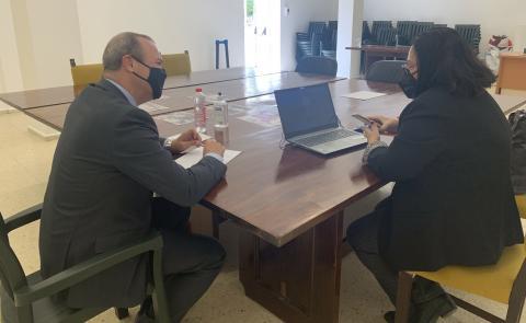 Encuentro del alcalde de Las Palmas de Gran Canaria con entidades de Ciudad Alta / CanariasNoticias.es