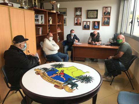 Reuniones de la Federación Insular de Lucha Canaria de Gran Canaria con los clubes / CanariasNoticias.es