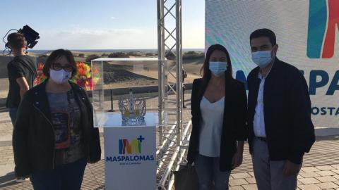 El Centro de Salud de Maspalomas custodiará la corona de la Reina del carnaval / CanariasNoticias.es