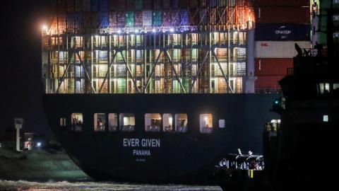 MV Ever Given. Canal de Suez/ canariasnoticias