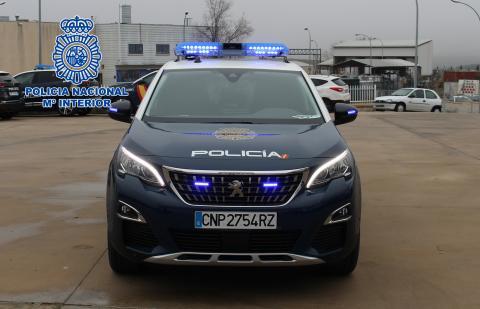 Nuevos vehículos híbridos enchufables de la Policía Nacional / CanariasNoticias.es