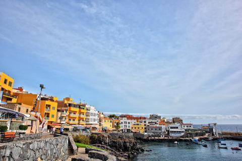 Zona de restauración en Los Abrigos, Granadilla de Abona (Tenerife) / CanariasNoticias.es