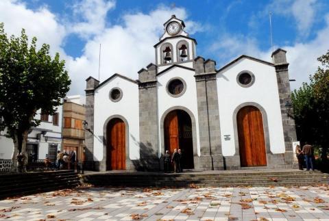 Parroquia de San Vicente Ferrer de Valleseco (Gran Canaria) / CanariasNoticias.es