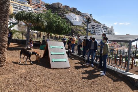 Inauguración del parque canino de Tabaiba en El Rosario (Tenerife) / CanariasNoticias.es