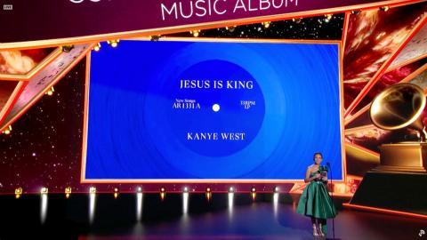 Kanye West ganador de un premio Grammy