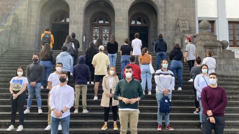 El grupo claustral Libertad Estudiantil (LE) / CanariasNoticias.es