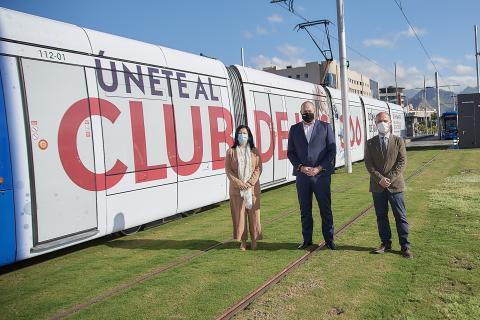 Nueva campaña de donación del ICHH en tranvías de Tenerife / CanariasNoticias.es
