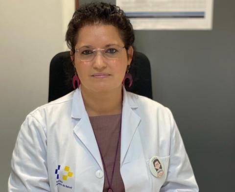Mirkadeiny Cabrera, gerente de los Servicios Sanitarios del Área de Salud de El Hierro / CanariasNoticias.es