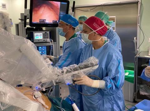 Intervención con el robot Da Vinci en el Hospital de Gran Canaria Dr Negrín / CanariasNoticias.es