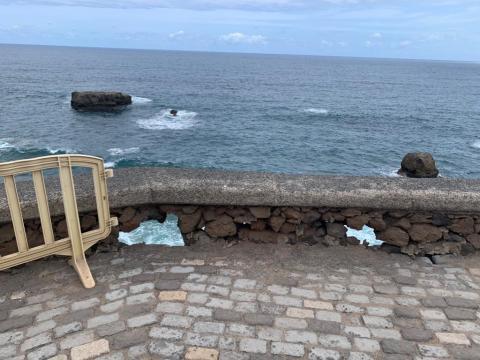 Estado del Paseo del Atlante en Las Palmas de Gran Canaria / CanariasNoticias.es