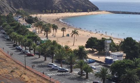 Playa de Las Teresitas, Santa Cruz de Tenerife / CanariasNoticias.es