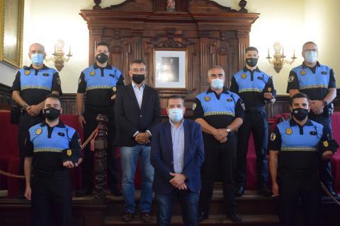 Nuevos agentes de la Policía Local de Santa Cruz de La Palma / CanariasNoticias.es