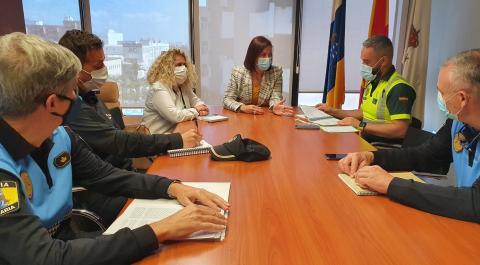 Reunión de seguridad del distrito Anaga de Santa Cruz de Tenerife / CanariasNoticias.es