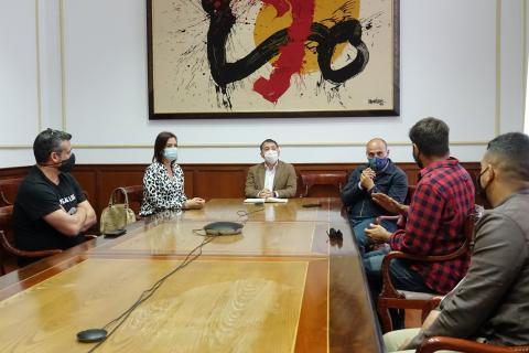 Reunión para apoyar al sector de la hostelería y la restauración / CanariasNoticias.es