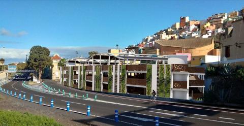 Aparcamiento de Sagulpa en la zona de el Rectorado en Las Palmas de Gran Canaria / CanariasNoticias.es