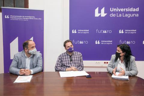 José Antonio Valbuena, Ernesto Pereda y Mª Montserrat Acosta