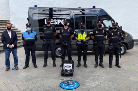 Unidad Especial de Intervención de la Policía Local de Santa Cruz de La Palma / CanariasNoticias.es