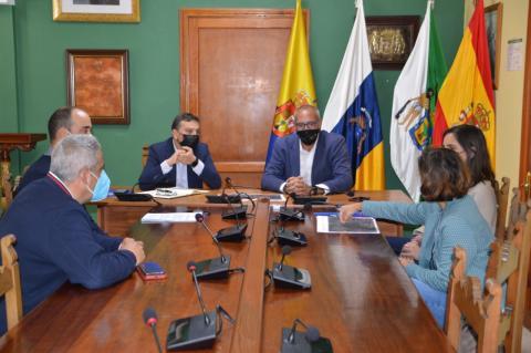 Francisco Atta, Francisco Galván y Víctor Navarro. Valsequillo