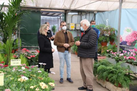 Visita de la consejera de Agricultura a empresa de flor cortada / CanariasNoticias.es