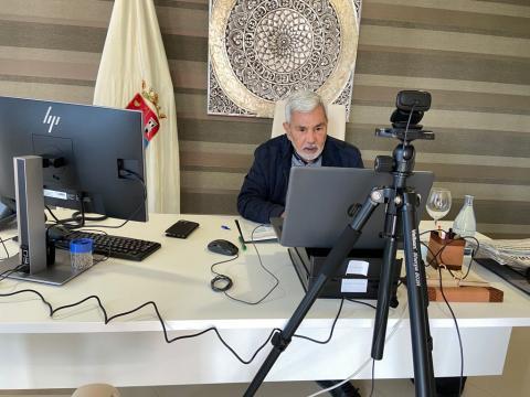 José Miguel Rodríguez Fraga, alcalde de Adeje / CanariasNoticias.es