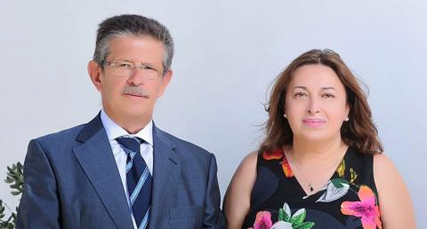 Ángela Cruz y Emilio Atiénzar/ canariasnoticias