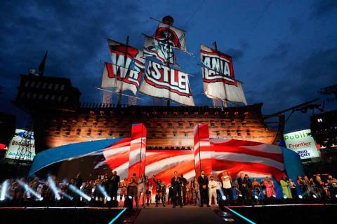 WrestleMania 37/ canariasnoticias