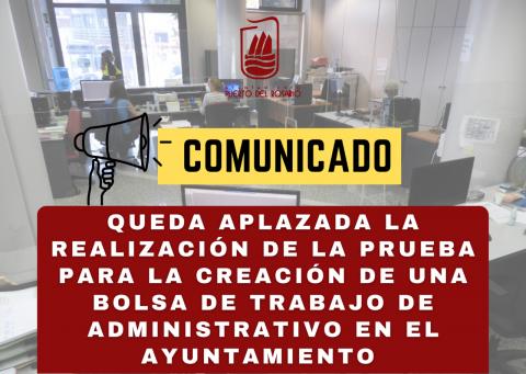 Puerto del Rosario aplaza la realización de la prueba para la creación de una Bolsa de Trabajo / CanariasNoticias.es