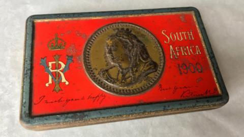 tableta de chocolate de hace 121 años