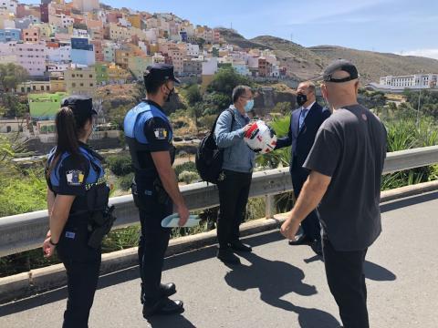 Policía Local. Las Palmas de Gran Canaria