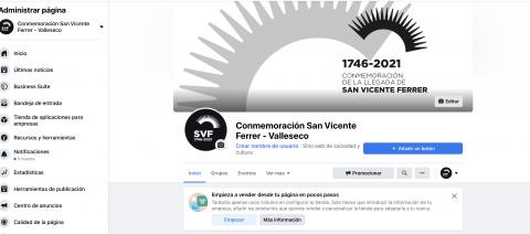 Facebook del Ayuntamiento de Valleseco conmemorativas de San Vicente Ferrer en el municipio / CanariasNoticias.es