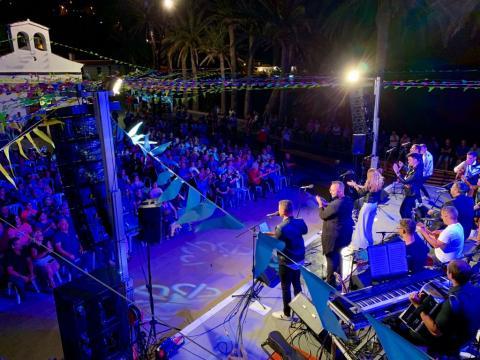 Fiesta popular en Alojera (La Gomera) / CanariasNoticias.es