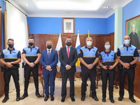Toma de posesión de los Policías Locales de Santa María de Guía (Gran Canaria) / CanariasNoticias.es