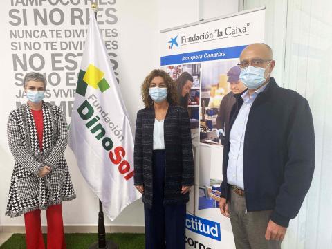 Virginia Ávila, Salomé Sedano y Francisco Morales  / CanariasNoticias.es