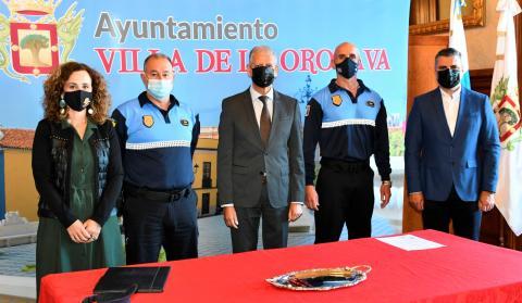 Ignacio Sánchez toma posesión como subinspector de la Policía Local de La Orotava / CanariasNoticias.es